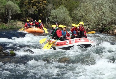 Rafting com o Clube do Paiva